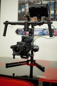 DJI Ronin flying the FS700 7Q combo